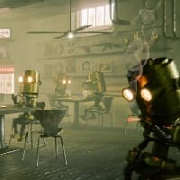 the robot bar